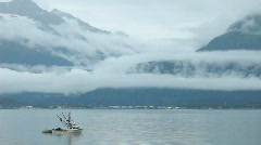 Fishing boat commercial Valdez P HD 8609 Stock Footage