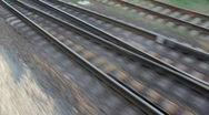Stock Video Footage of Railroad track (Full HD)