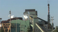 Heavy Industry at Work Stock Footage