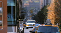 Street traffic Park Avenue New York City NYC Footage