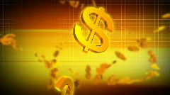 GOLDEN FINANCE - stock footage