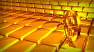 Stock Video Footage of GOLDEN BARS