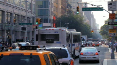 New York Street Stock Footage