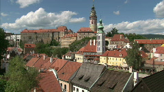 Stock Video Footage of Cesky Krumlov - UNESCO heritage