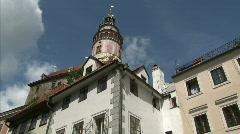 Cesky Krumlov - UNESCO heritage Stock Footage