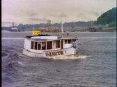 Stock Video Footage of Amazon River, close up of boat moving up river