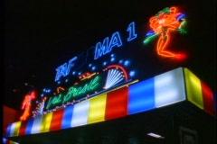 Rio de Janeiro Samba Plataforma nightclub neon sign Stock Footage