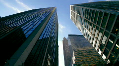 Skyscrapers New York City Stock Footage