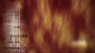 Extreme Sports Fire Background Stock Footage