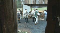 American Pioneer Frontier Stock Footage