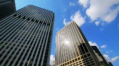 Skyscrapers, New York City, HD Stock Footage