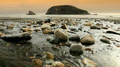 Oregon Coast Water-HD Stock Footage