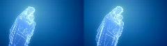 BVM GLASS Stereoscopic3D LRRL 720P Stock Footage