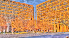 HDR Building Time lapse - stock footage