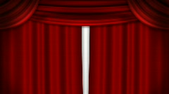 Curtain - stock footage