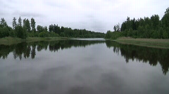 Estonian Lake Stock Footage