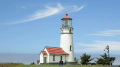 Cape Blanco Lighthouse 3-HD Stock Footage