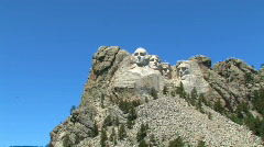 Mt. Rushmore 2 Stock Footage