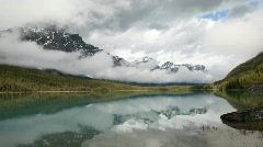 Canada glacial lake P HD 7535 Stock Footage
