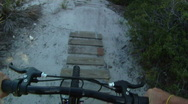 Stock Video Footage of Bike Ride POV