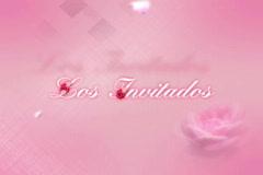 4108Cut Los Invitados (The Awaiting Guests) - stock footage