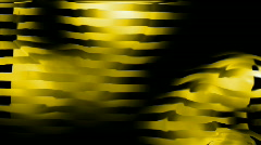 Abstract yellow stripe water reflection solitude background. Stock Footage
