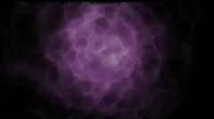 Purple nebula space flare explosion galaxies lightning fiber ray background. Stock Footage