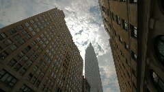 Skyscrapers New York City timelapse Stock Footage