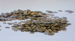 Collect money Stock Footage