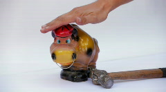Moneybox Stock Footage