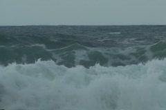 Storm Fiona - stormy seas 9 Stock Footage