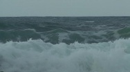Stock Video Footage of Storm Fiona - stormy seas 9