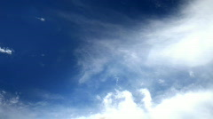 Clouds sky nature air weather climate Stock Footage