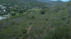 Park City Mountain Biking Jib Stock Footage