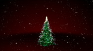 Stock Video Footage of Merry Christmas with Tree HD1080