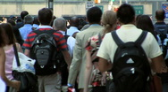 PeopleWalking8 Stock Footage