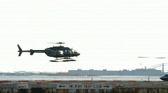 Downtown Manhattan Heliport  Stock Footage