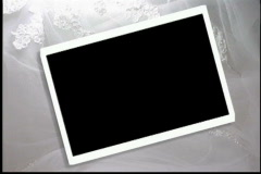 1635L picture frame Stock Footage