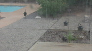 Stock Video Footage of Unexpected super storm - hail in the middle of summer