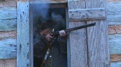 Flintlock Muzzleloader Shooting Stock Footage