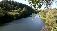 Russian River Stock Footage