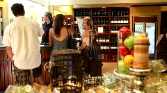 Winery Wine Tasting Tour Stock Footage