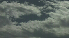 Exterior_Sky_Clouds_Timelapse Stock Footage