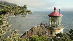 Heceta Head Lighthouse4-HD Stock Footage