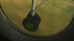 Chassis plane 4 Stock Footage