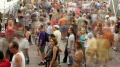 Crowd of People Stock Footage