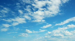 beautiful clouds - stock footage