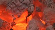 Burnt wood Stock Footage