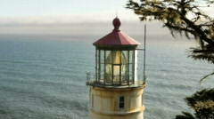 Heceta Head Lighthouse2-Big Web Stock Footage