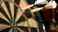 Darts 13 HD Stock Footage